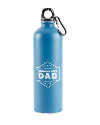 Fathers Day Flask - Blue
