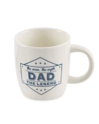 Fathers Day Mug - White