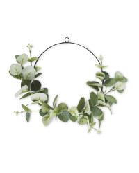 Circle Eucalyptus Faux Wreath