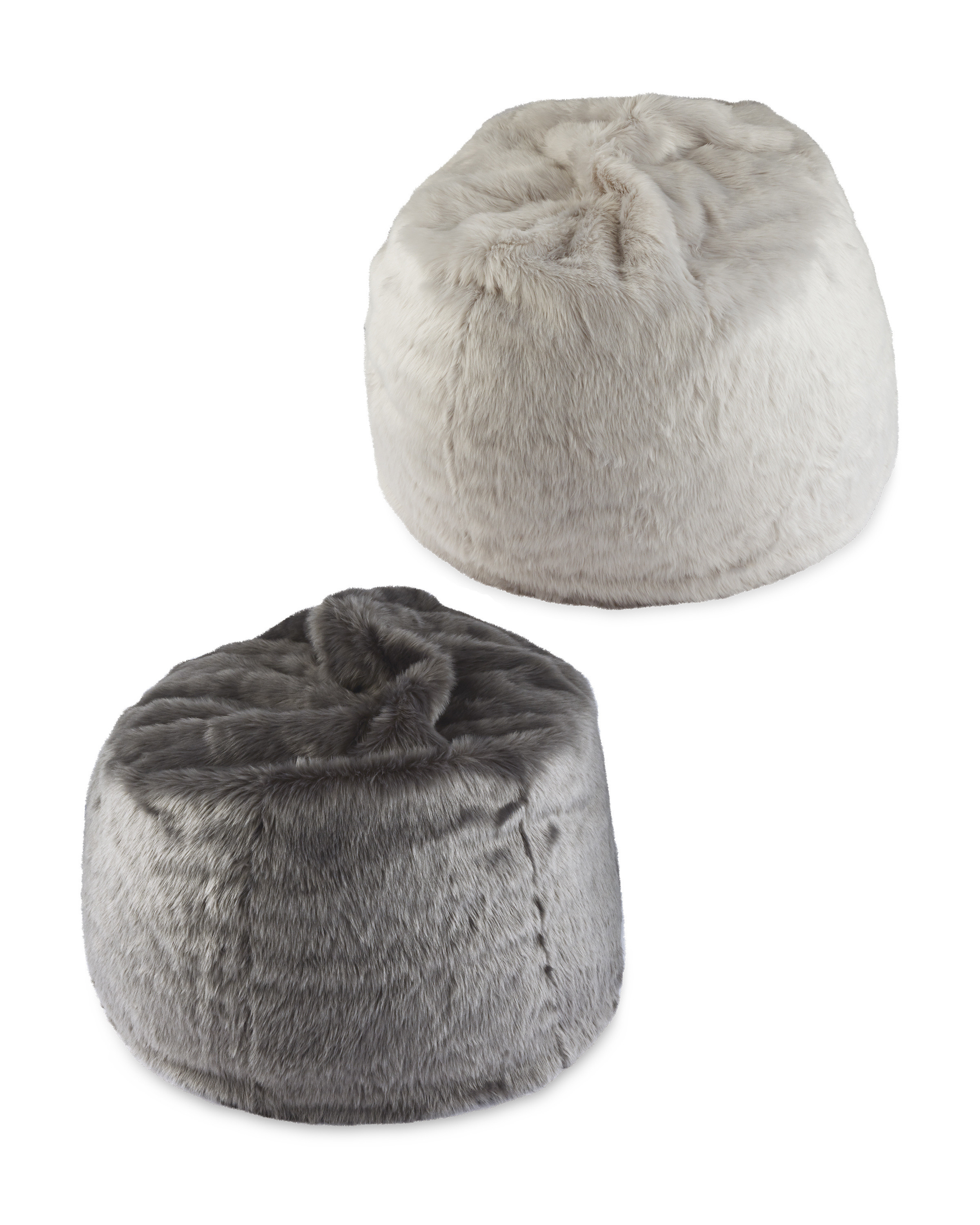 Pleasant Faux Fur Bean Bag Machost Co Dining Chair Design Ideas Machostcouk