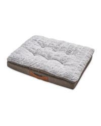 Faux Suede Memory Pet Foam Bed