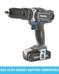 Ferrex 18V Cordless Combi Drill