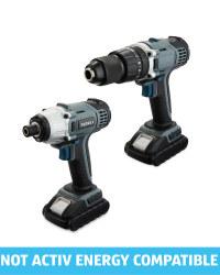 Ferrex 18V Impact Drill & Driver Set