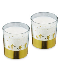 Festive Wish Scented Candle Gift Set