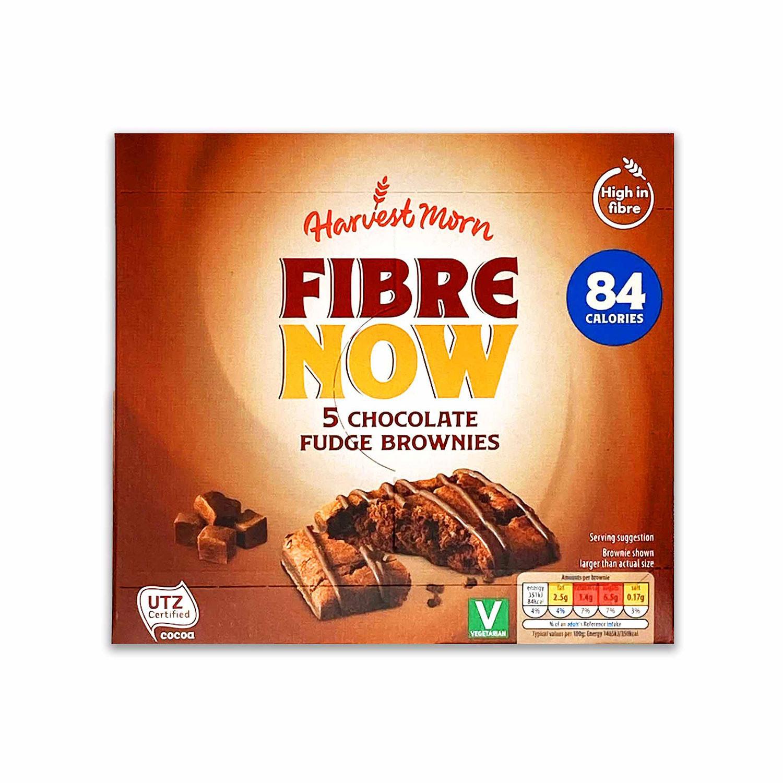 Fibre Now Chocolate Fudge Brownies