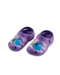 Finding Dory Children's Clogs - Purple
