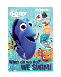 Finding Dory Novelty Sticker Pad