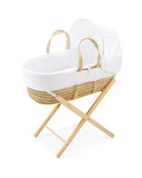 Mamia Teddy Moses Basket With Stand