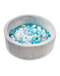 Nuby Grey/Blue Ball Pit