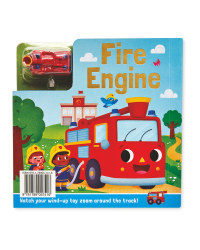 Fire Engine Busy Day Board & Book