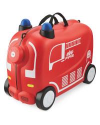 Firetruck Ride On Kids' Suitcase