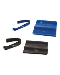 Fitness and Rubber Band Set