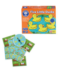 Five Little Ducks Children's Game