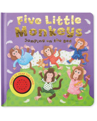 Five Little Monkeys Sound Book