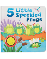 Five Speckled Frogs Sound Book