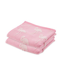 Flamingo 2PK Hand Towel