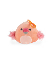 Flamingo Squishmallow Keyring