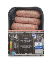 Flavoured Cumberland Sausages