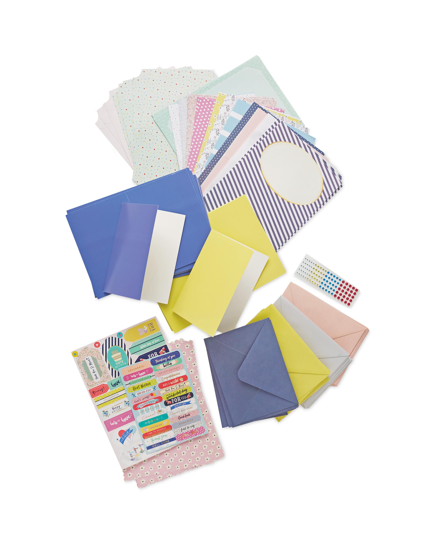Floral Card Making Kit