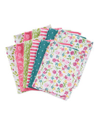 Floral Fabric Fat Quarters 12 Pack