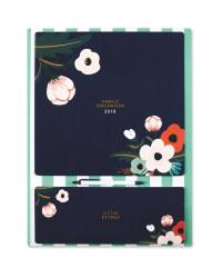 Floral Family 2018 Calendar