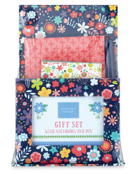 Floral Quote Notebook Gift Set