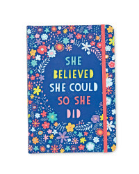 Floral Quote Notebook