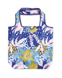 Floral Reusable Pouch Shopping Bag
