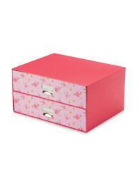Floral Design 2-Drawer Box
