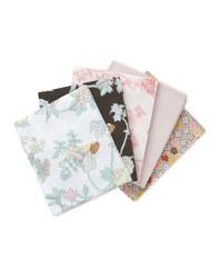 Flower Fairies Fat Quarters 5 Pack