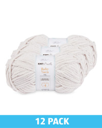 Fluffy Clouds Baby Yarn 12 Pack