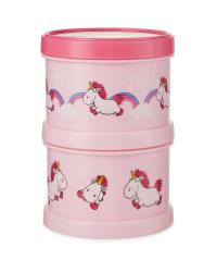 Unicorn Stacked Snack Pots