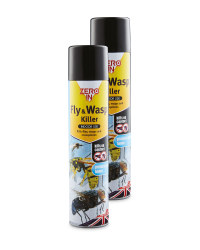 Fly & Wasp Spray 2 Pack