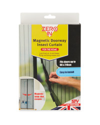 Zero In Magnetic Fly Curtain