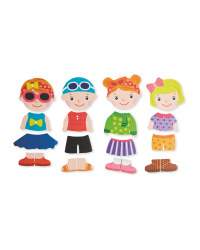 Foam Dress-Up Girl Bath Puzzle