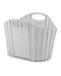 Addis Fold Flat Laundry Basket - Grey