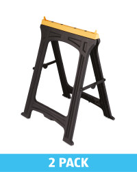 Foldable Saw Horse 2 Pack