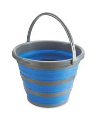 Adventuridge Folding Bucket - Blue