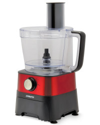 Food Processor - Black/Red