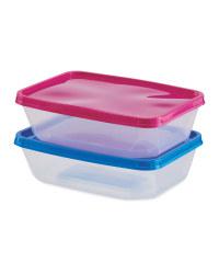 Food Storage Boxes 2 Pack