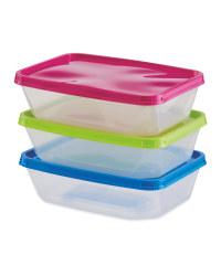 Food Storage Boxes 3 Pack