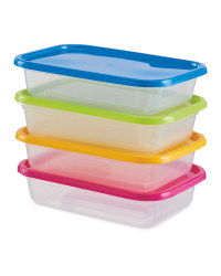 Food Storage Boxes 4 Pack