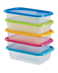 Food Storage Boxes 5 Pack