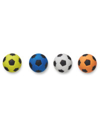 Script Football Erasers 4 Pack