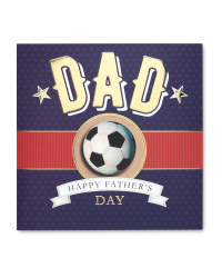Football Father's Day Card