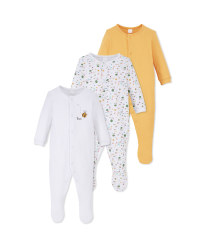 Forest Baby Sleepsuit 3 Pack