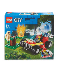 Forest Fire Lego Set