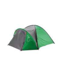 Four Person Dome Tent - Green / Grey