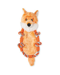 Fox Knotted Animal Dog Toy