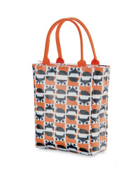 Fox Print Lunch Tote